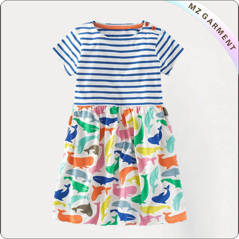 Kids Dolphin Dress