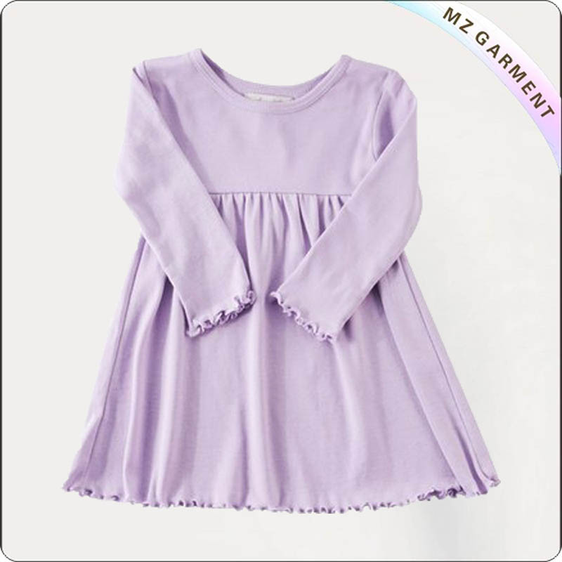 Kids Purple Stella Dress