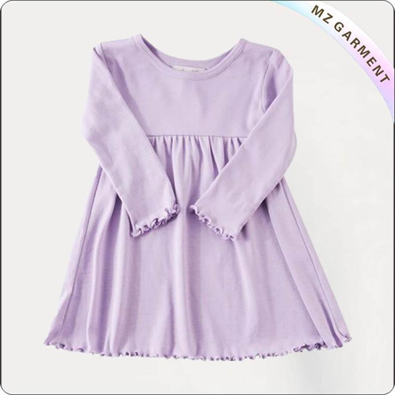 Kids Purple Stella Dress
