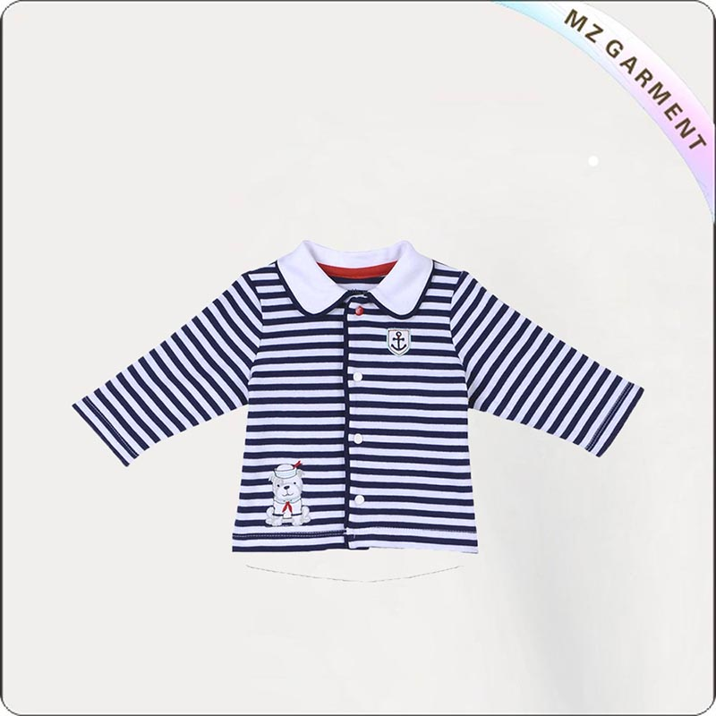 Girls Striped Jacket