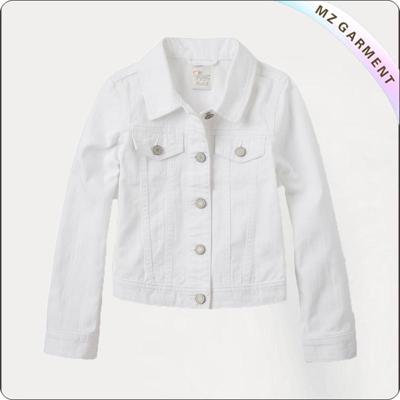 Kids White Jacket