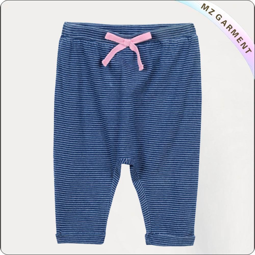 Light Purple Strip Pants