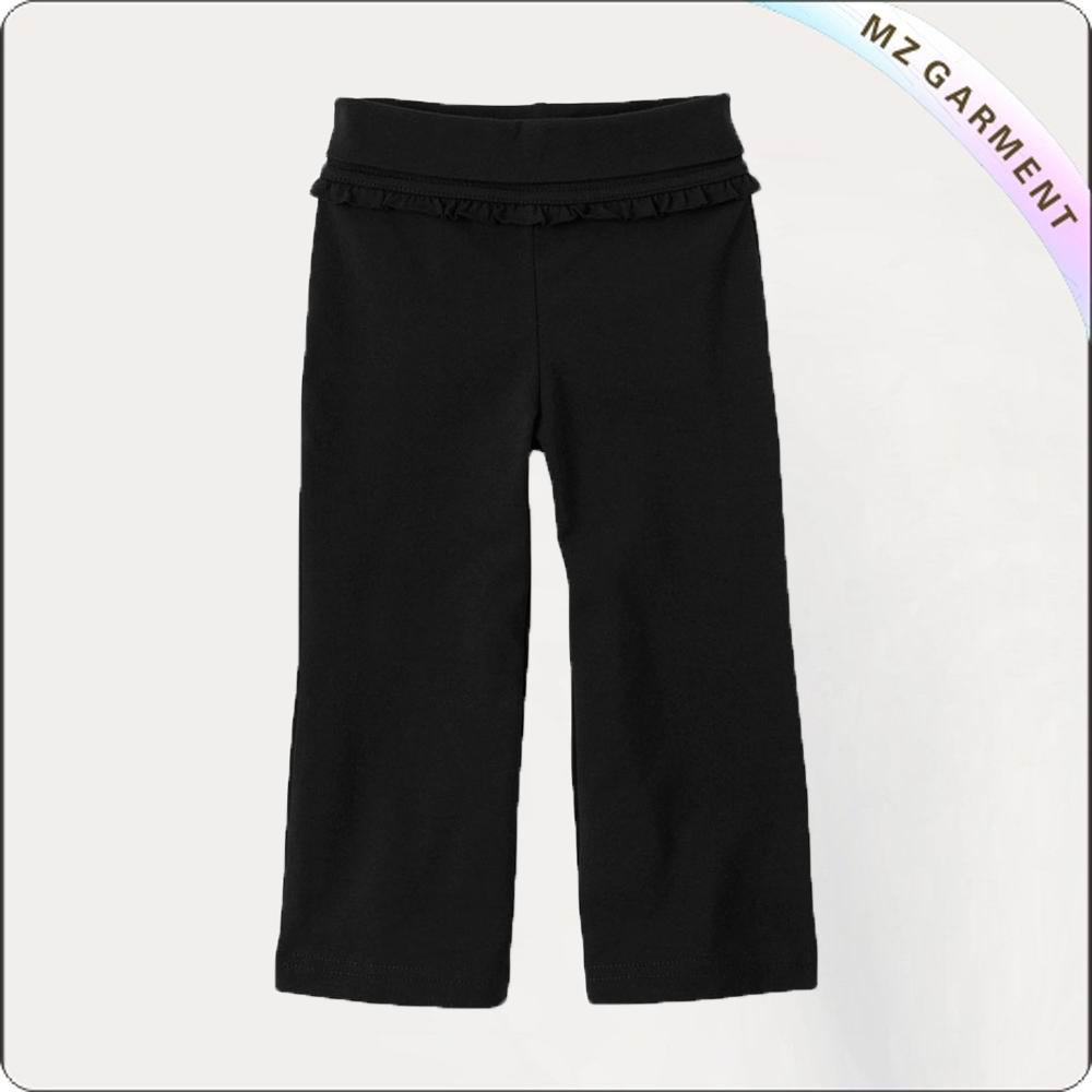 Black Lace Active Pants