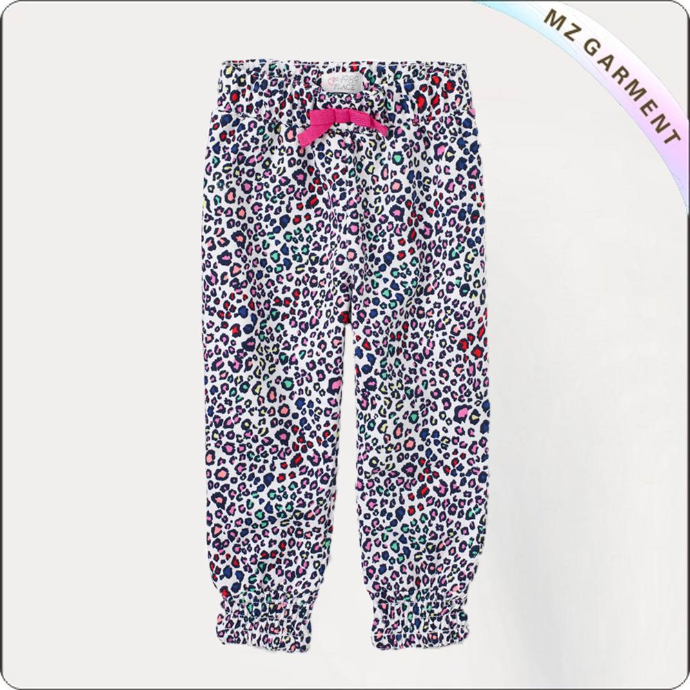 Floral Print Long Pants