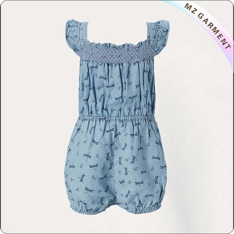 Kleuren Blauw Snapsuit