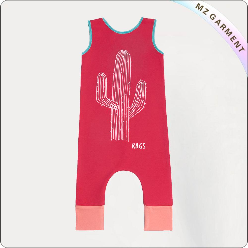 Kids Cactus Romper