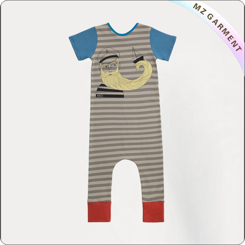 Kids Captain Romper