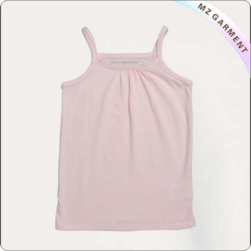Girls Pink Singlet