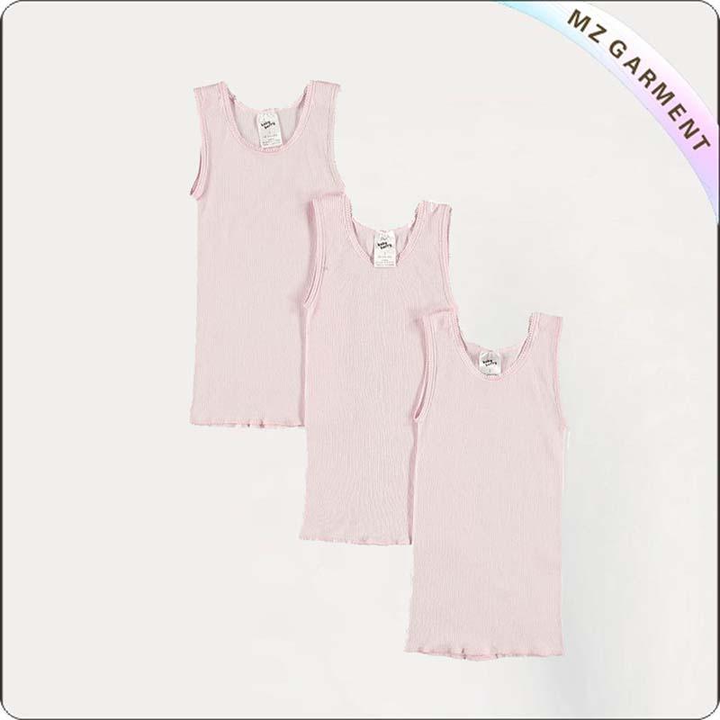 Kids Pink Singlet