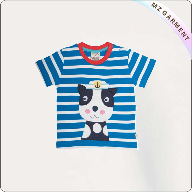Kids Cat Printed T-Shirt