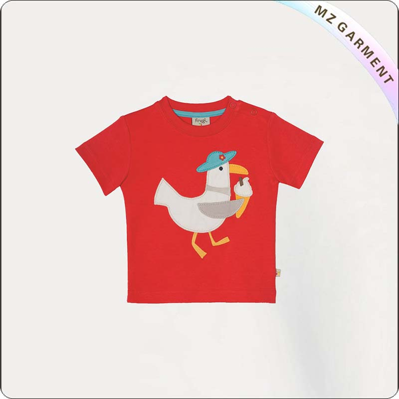 Kids Cock & Ice Cream T-Shirt