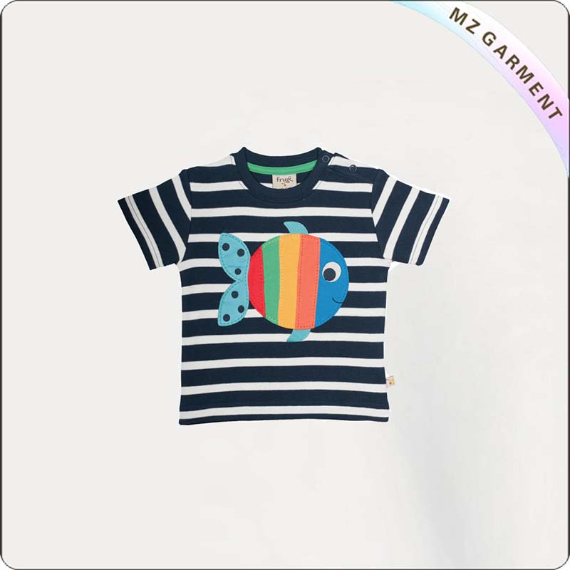 Kids Fish Printed Tee Shirt