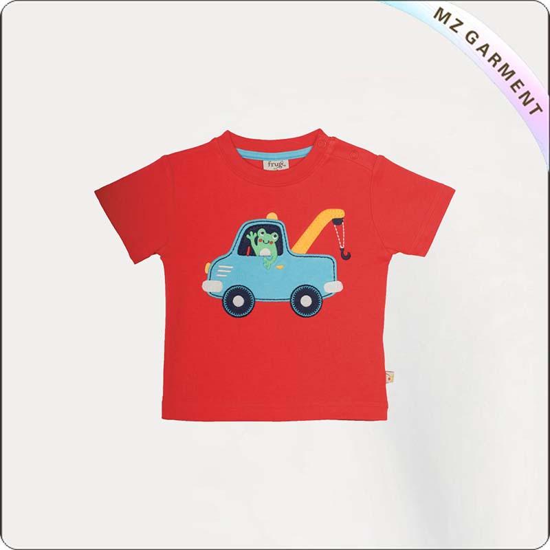 Kids Frog Story Tee Shirt
