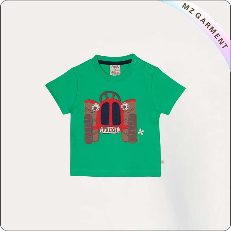 Kids Wheels Short Sleeve Tee Shirt
