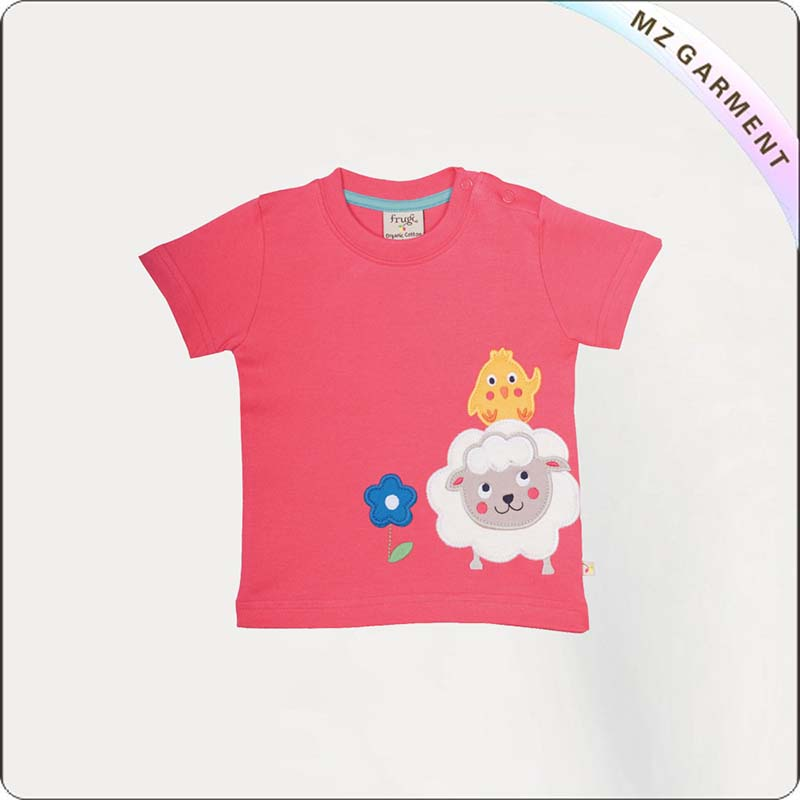 Sheep & Chickens Printed Tee Shirt