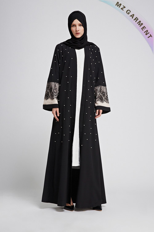 Abaya Clothing, Muslim Modest Wear, Made of Cotton, Polyester