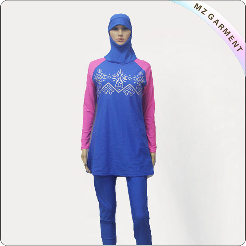 Gadis Gaya Muslim Swimwear