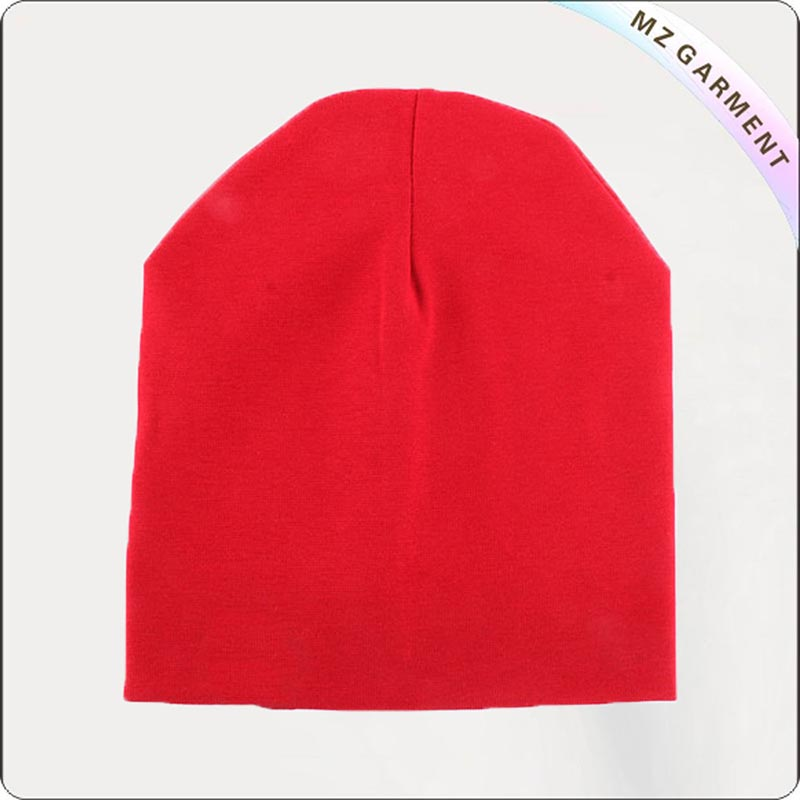 100% Organic Cotton Red Cap
