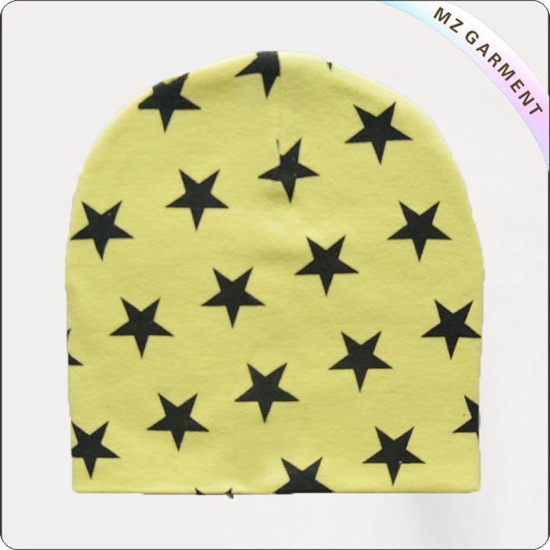 Black Star Yellow Cap