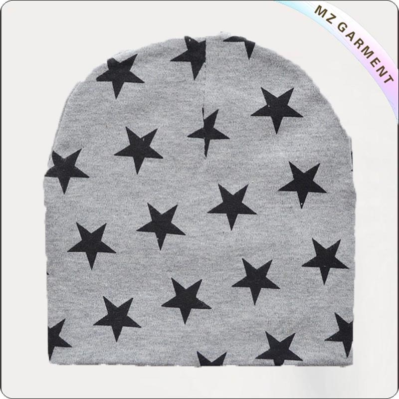 Navy Star Dark Grey Cap