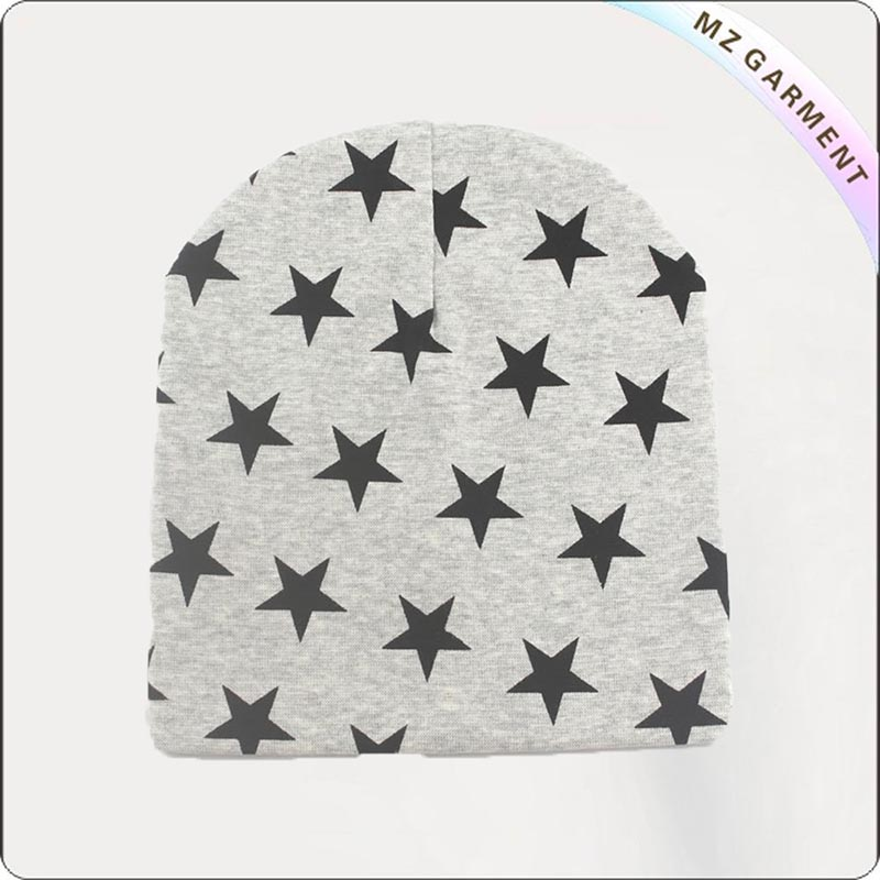 Navy Star Grey Cap