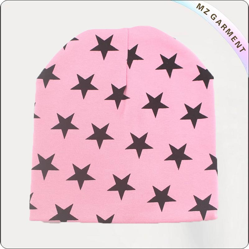 Navy Star Pink Cap
