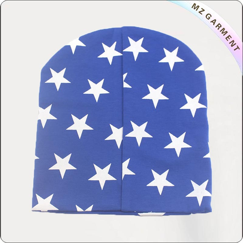 White Star Blue Cap