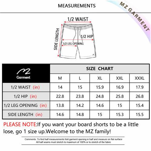 Euro Size Men Beach Shorts