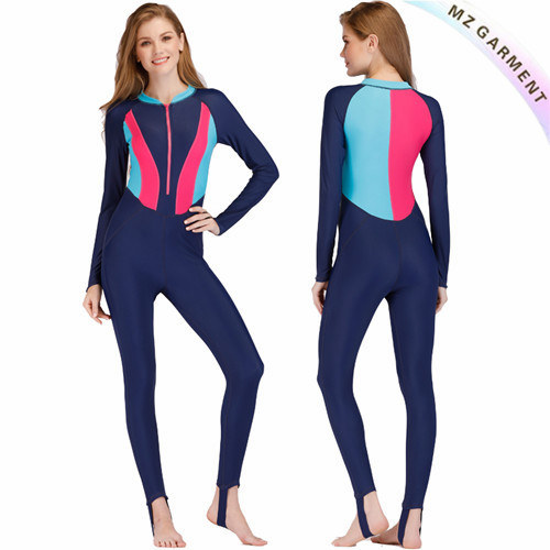 Full Body Wetsuit, Nylon & Spandex Material, OEM Service