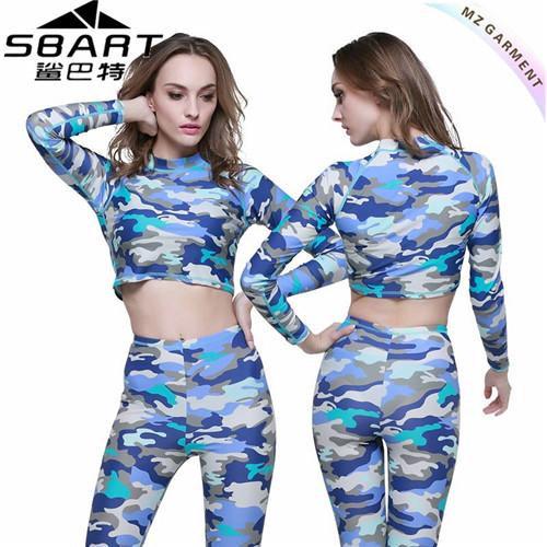 Long Sleeve Rash Guard for Women
