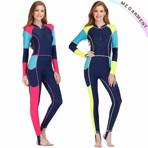 Long Sleeve Wetsuit, Made of Nylon & Spandex, UPF 50+