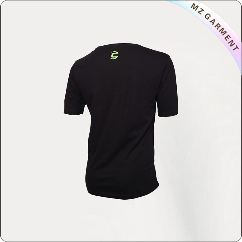 Black T-Shirt Cycling Wear