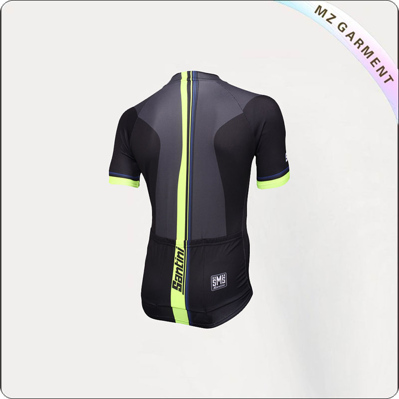 Black & Yellow Active Short Sleeve Jersey