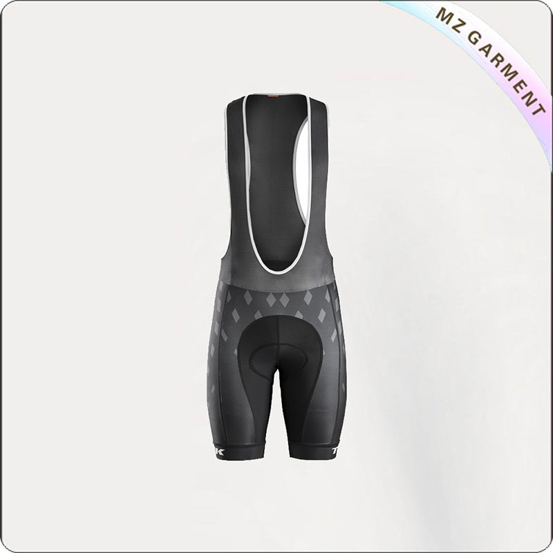 Dark Grey & Black Short Cycling Wear