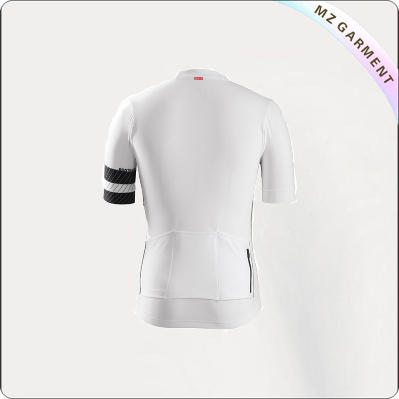 White Active Circuit Short Sleeve Jersey