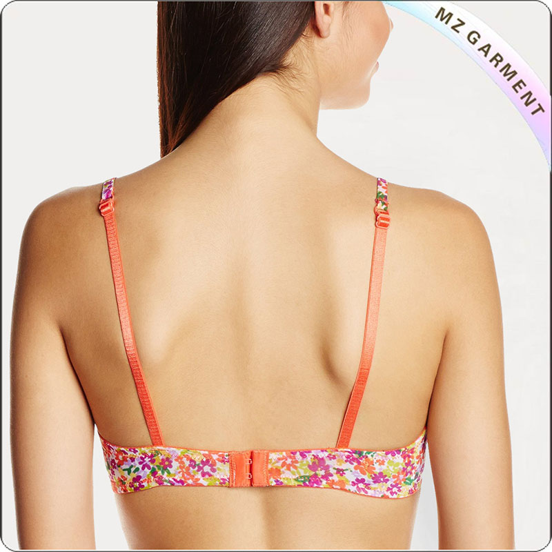 Floral Full Cup Exercise Bra