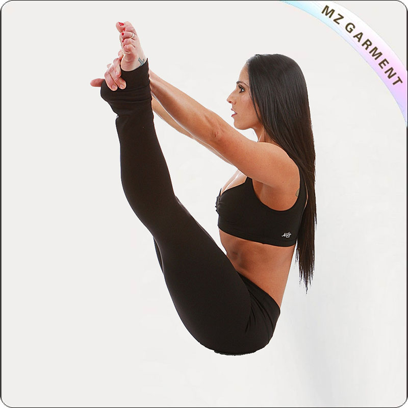 Black Legging Yoga Wear