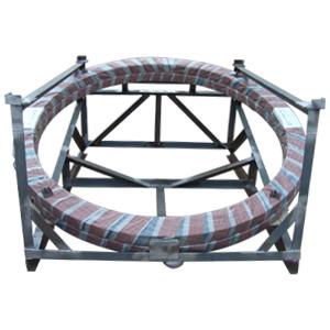 ГОСТ Р 51365-99 кованый кольцевой фланец из углеродистой стали, DN 2000 мм