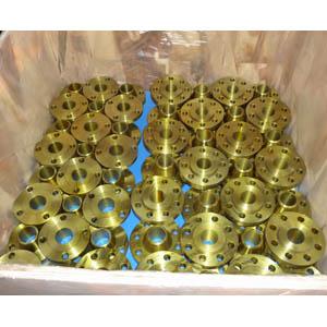 ГОСТ 1272-67 фланец приварной встык с золотым покрытием, DN 80 мм, 150 LB