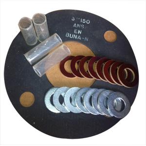ГОСТ 15180-86 прокладка Е-типа изоляционная, 150 Lb, DN 50 мм, DN 80 мм
