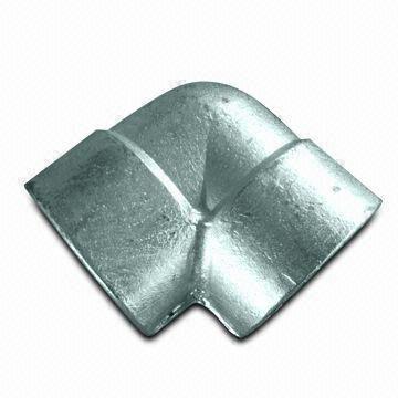 ГОСТ 22818-83  оцинкованное колено из углеродистой стали, DN 25 - 100 мм, 2000 Lb, 3000 Lb, 6000 Lb, 9000 Lb