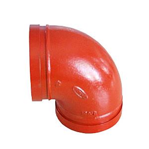 ГОСТ 22818-83  желобчатое колено из ВЧШГ, DN 80 мм