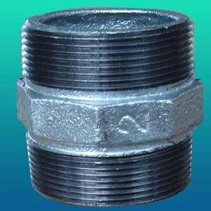 ГОСТ 8958-75 шестигранный чугунный ниппель, DN (Dy) 50 мм, 150 Lb