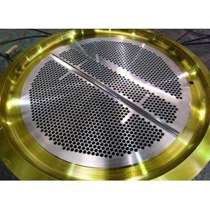 ГОСТ Р 53682-2009 металлизированная трубная решетка, DN 2136 мм, 135 мм