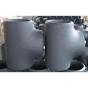 ГОСТ 17376-2001 переходный тройник с черным покрытием, DN 150 мм х 100 мм, 10,97 мм х 8,56 мм