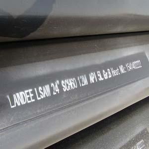 ГОСТ 10706-76 приваренная труба электрошлаковой сварки, DN 600 мм, 14,27 мм, 12 м