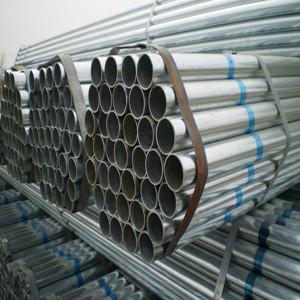 ГОСТ 30563-98 оцинкованная стальная труба, 44 мм, 1,5 мм, 5,8 м