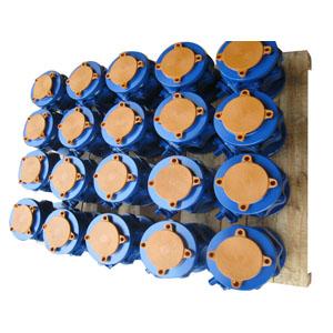 2PC шаровой клапан, синий, 150 LB, DN80 mm