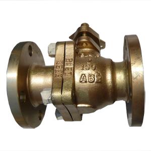 Бронзовый шаровой клапан поплавкового типа, PN20, DN50 мм