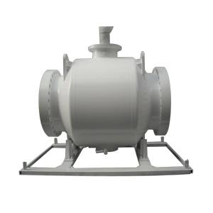 Цельносваренный  шаровой клапан, DN 750 мм, 600 LB